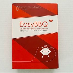 Easy BBQ | Wireless Smart Meat Thermometer NIB